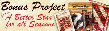 Christmas Quilt Patterns - Quilted Ornaments, Santa Quilt