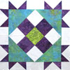 Free Pattern: Corner Star