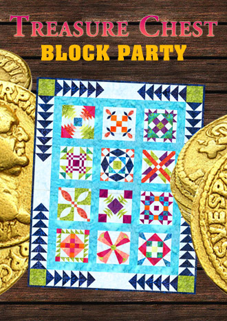 Quilt In A Day Treasure Chest Block Party