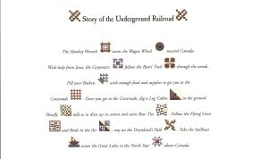 2013 underground railroad block of the month one per month for Underground railroad coloring pages