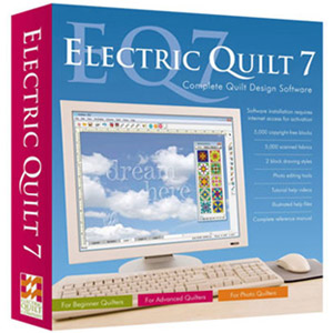 Electric Quilt 7 Quilt Design Software