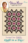 Twisted Star: Eleanor Burns Signature Quilt Pattern
