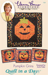 Pumpkin Grins: Eleanor Burns Signature Pattern