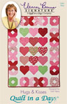 Hugs & Kisses: Eleanor Burns Signature Quilt Pattern 735272012634