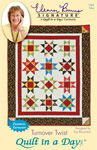 Turnover Twist: Eleanor Burns Signature Quilt Pattern 735272012641