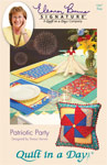 Patriotic Party: Eleanor Burns Signature Quilt Pattern  735272012672