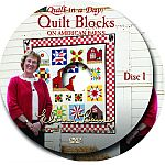 Quilt Blocks on American Barns DVD
