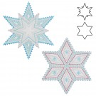 BACKORDER - Accuquilt Die GO! 55093 Sparkle-Snowflakes by Sarah Vedeler
