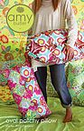Amy Butler: Oval Patchy Pillow