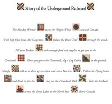 Underground Railroad Label Companion Kit Quilt In A Day