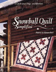 Snowball Quilt Simplified