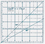 6 Inch Square Up Ruler by Quilt in a Day