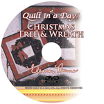 Log Cabin Tree & Wreath DVD