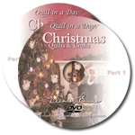 Christmas Quilts & Crafts DVD