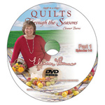 Quilts Through the Seasons DVD