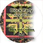Strip TZZ - July - Stars and Crosses - DVD