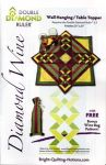 Diamond Wine Wall Hanging & Table Topper Pattern