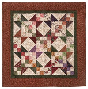 SUMMER PORCH PATTERN QUILT FREE Quilt Pattern
