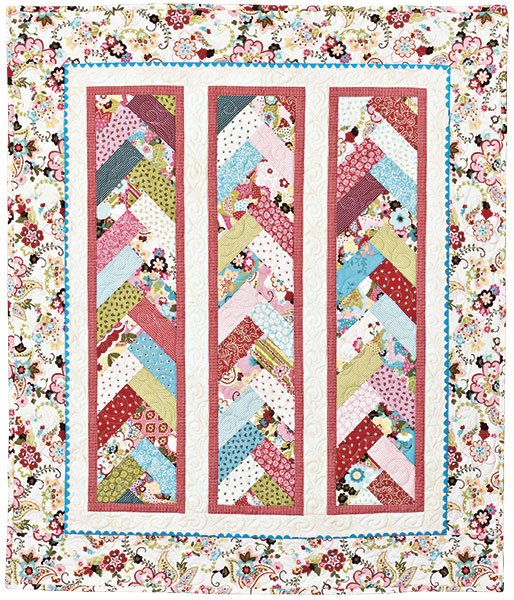 Quilt Patterns To Make In A Day : Braid In A Day Pattern, Quilt in a Day, Eleanor Burns, w/ Acrylic Template, EASY eBay