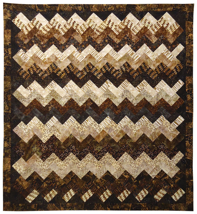 Zig A Zag: Eleanor Burns Signature Pattern 735272012856 735272012856 - Quilt in a Day Books