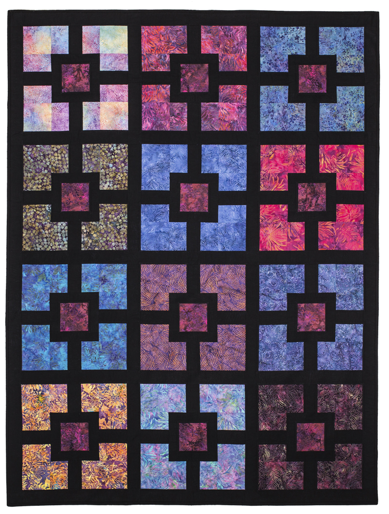 Quilt Patterns To Make In A Day : Quilt in A Day Eleanor Burns Hole in The Wall T Pattern Sewing Quilting Easy eBay