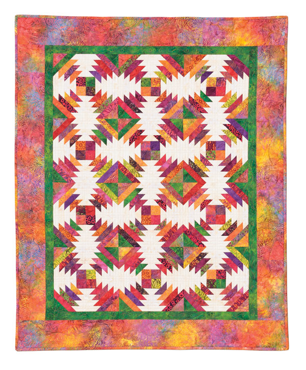 Pineapple Quilt Eleanor Burns Signature Pattern