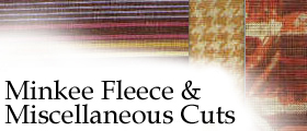Miscellaneous Cuts of Fabric