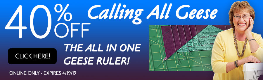 40% Off Calling All Geese Rulers!