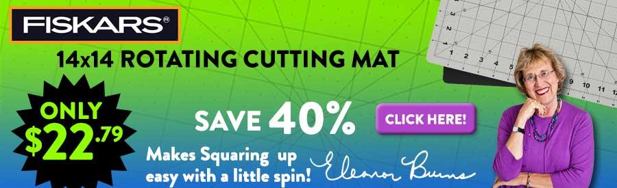 Fiskars Rotating Cutting Mat 40% Off!