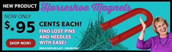 Horseshoe Magnets 95 Cents!
