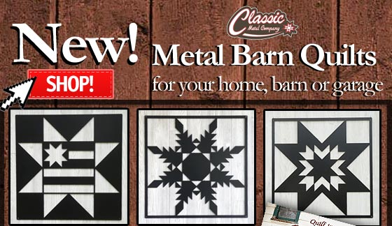New Metal Barn Quilts Ruler Sale Black Friday Registration